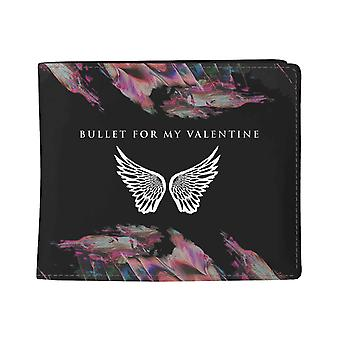 Bullet For My Valentine Wallet Wings Band logo new Official Black Bifold