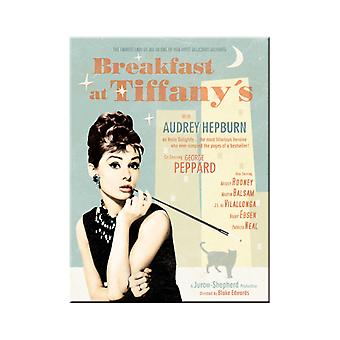 Breakfast at Tiffanys Nostalgic Metal Magnet - Cracker Filler Gift