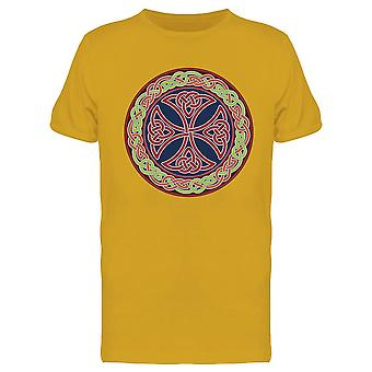 Colored Celtic Cross Design Tee Men-apos;s -Image par Shutterstock