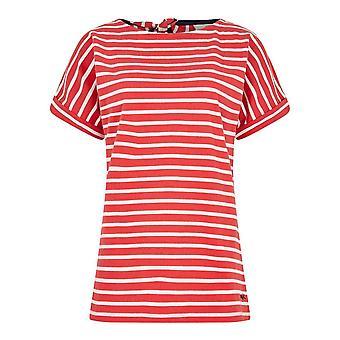 Weird Fish Women's Esha Short Sleeve T-Shirt Red