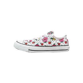 Converse Ct Ox White/Multi Womens 547287C Shoes Boots