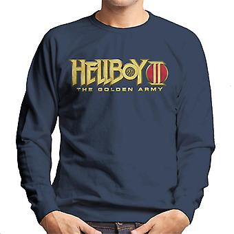Hellboy II The Golden Army Logo Men's Sweatshirt
