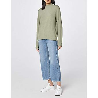 find. Women's Oversized L (US 10)ong Sleeve Jersey Sweater, Green L (US 10)