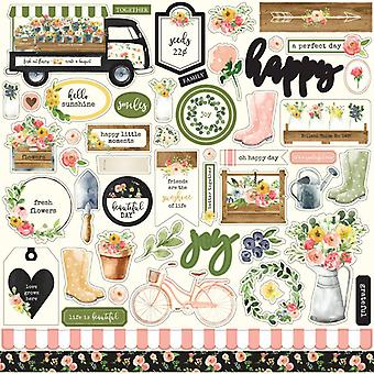 Carta Bella Spring Market 12x12 Inch Element Sticker