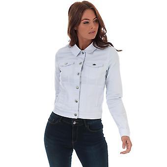 Women's Vero Moda Hot Soya Denim Jacket em Branco