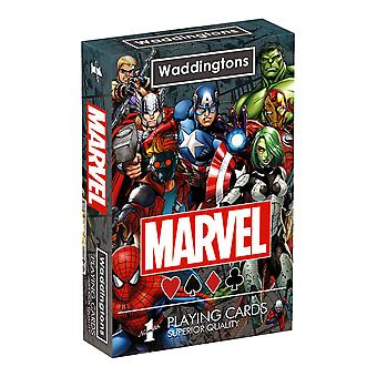 Marvel Universe Waddingtons No.1 Playing Cards
