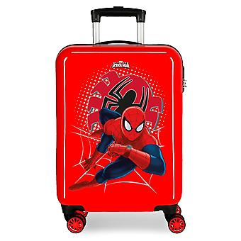 Wózek w ABS Spiderman Tech Red