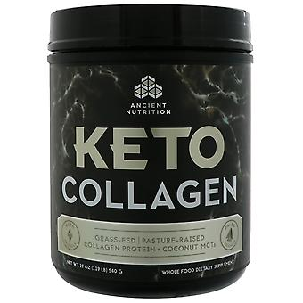 Dr. Axe / Ancient Nutrition, Keto Collagen, Collagen Protein + Coconut MCTs, 1.1