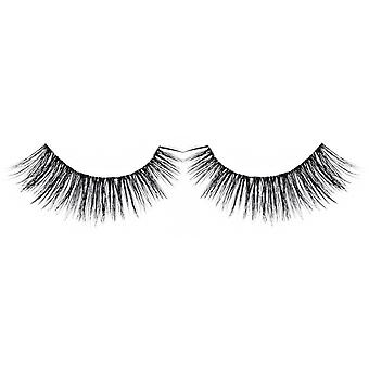 Bliss False Eyelashes - #123 / Black - Elegant 3D Effect Luscious Lashes