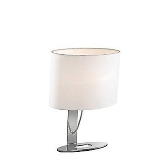 Ideal Lux Desiree - 1 Ljus liten bordslampa Vit, E14