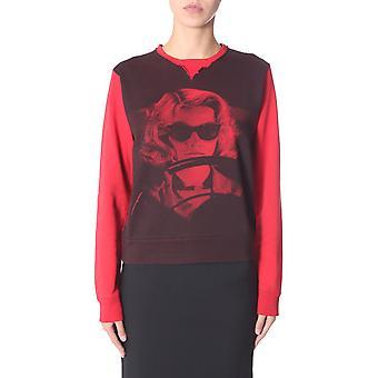N°21 E0114012s1y1 Dames's Red Cotton Sweatshirt
