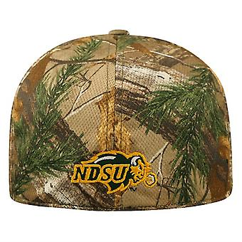 North Dakota State Bison NCAA TOW Real Tree Camo Memory Fit Hat