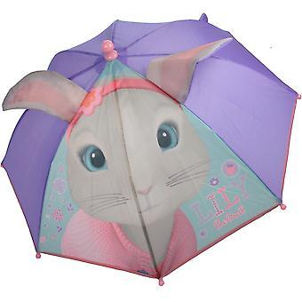 Peter Rabbit Lily Bobtail ELEANOR Novelty Umbrella