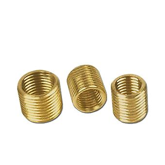 5pcs/lot M12/m10 To M8/m6/m4 Inner And Outer Tooth Tube Pure-copper Conversion