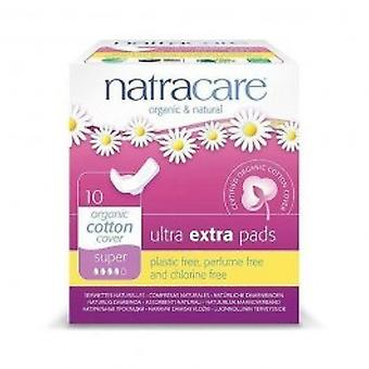 Natracare - Ultra Extra Pads Super 10pads