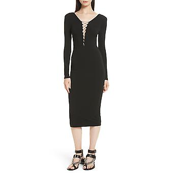 Alexander Wang - France | Robe en jersey lace-up