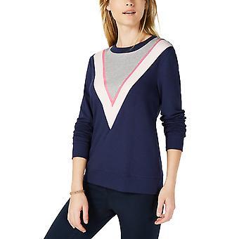 ميزون جول | متماسكة Colorblock Sweatshirt الأزرق