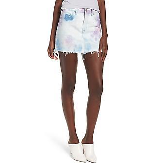 Hudson   The Viper Cotton Denim Mini Skirt