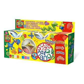SES Creative Children's Claymania Clay and Cutters Set Multi-color (498)