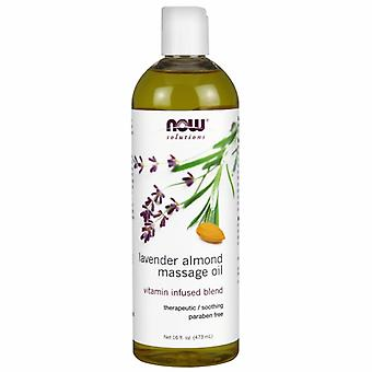 Now Foods Lavender Almond Massage Oil, 16 FL OZ