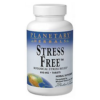 Planetary Herbals Stress Free Calm Formula, 60 Tabs