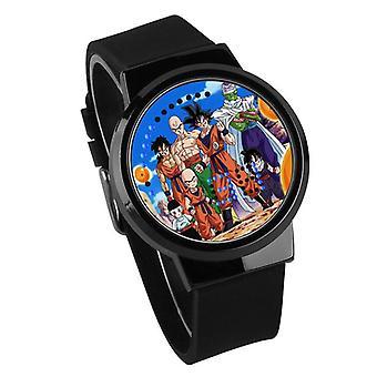 Impermeabil luminos LED Digital Touch Copii ceas - Dragon Ball #8