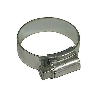 Faithfull 1X Stainless Steel Hose Clip 30 - 40mm FAIHC1XSSB