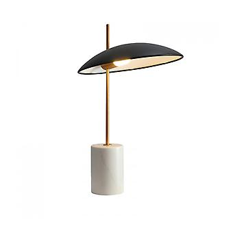 Modern Desk Lamp Vilai Black, Gold, Marble