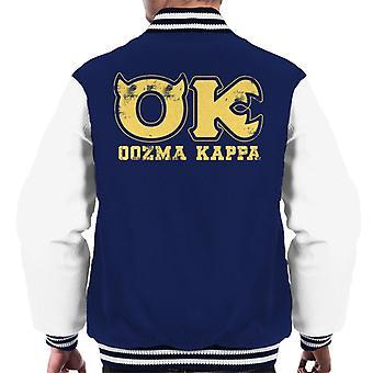 Pixar Monsters Inc University Oozma Kappa Logo Men's Varsity Jacket