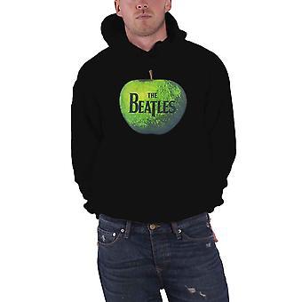 Den Beatles Apple logotyp officiella Mens nya svart Pullover Hoodie