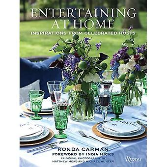 Entertaining at Home: Inspirations from Celebrated� Hosts