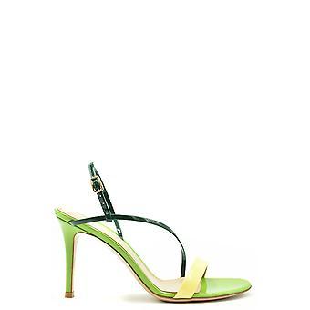 Gianvito Rossi Ezbc443019 Women's Multicolor Patent Leather Sandals