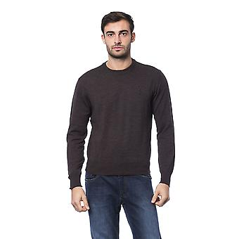 Billionaire Italian Couture Marr Brown Sweater