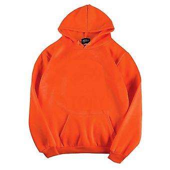 Vrouwen Effen kleur oversized hoodie Harajuku Plus Velvet Winter Basic Sweatshirt