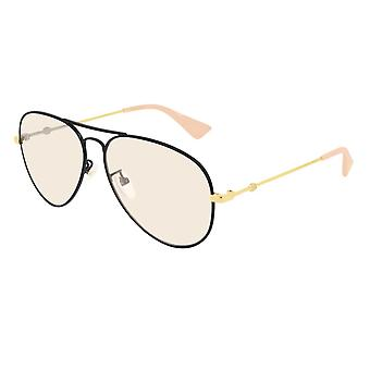 غوتشي GG0515S 003 أسود / أصفر نظارات شمسية