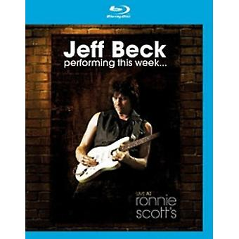Jeff Beck - Performing This Week: Live at Ronnie Scott's [DVD] USA import