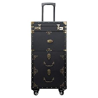 Multi-layer Beauty Tattoo, Salons Suitcase Trolley For Cosmetic Case, Rolling