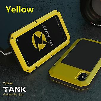 Heavy Duty Protection Armor Metal Aluminum Phone Case For Iphone Shockproof