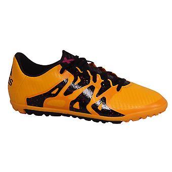 أداسداس X 15.3 جونيور TF استرو العشب الدانتيل حتى أورانج أحذية كرة القدم S74663 B35E