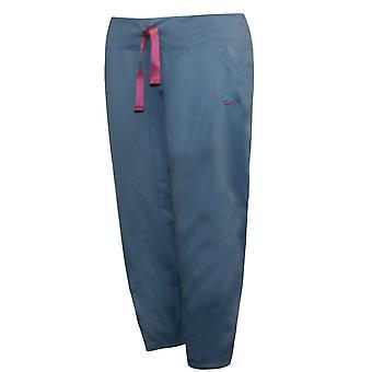Nike Fit Dance Knit Womens Capri Pants Training Gym Blue 212702 401 A57E