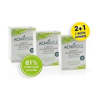 Acniregul 2 + 1 free solution against pimples 60 capsules