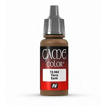Vallejo Game Color 17ml Acrylic Paint 62 Earth