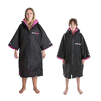 Dryrobe advance short sleeve change robe - stay warm and dry - windproof waterproof oversized poncho