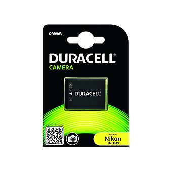 Duracell premium analog nikon en-el19 battery coolpix s33 s2500 s3200 3.7v 700mah