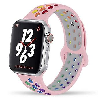 New Soft Breathable Silicone Sports Strap For Apple Watch