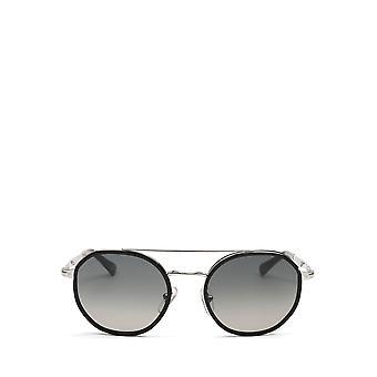Persol PO2456S gafas de sol unisex plateadas y negras