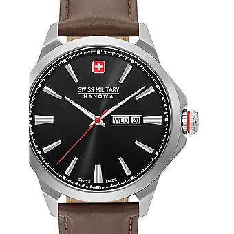 Mens Watch Swiss Military Hanowa 06-4346.04.007, Quartz, 45mm, 10ATM