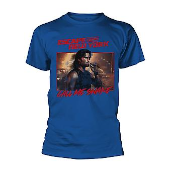 Escape From New York Call Me Snake Royal Blue Official T-Shirt Unisex