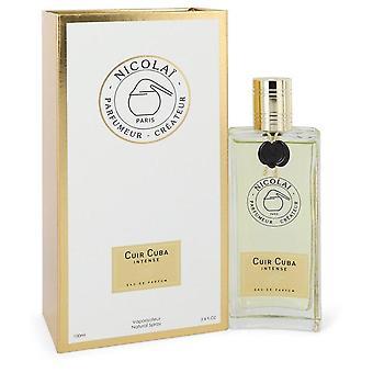Cuir Cuba Intense Eau De Parfum Spray (Unisex) By Nicolai 3.4 oz Eau De Parfum Spray