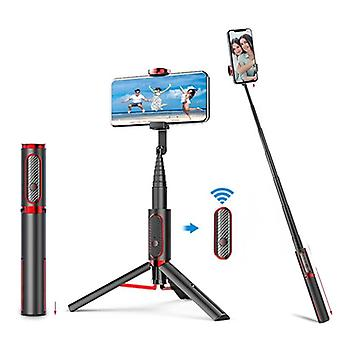3 In 1 Wireless Bluetooth Expandable Selfie Stick With Foldable Tripod And